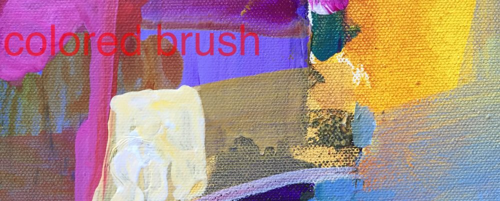 Colored Brush